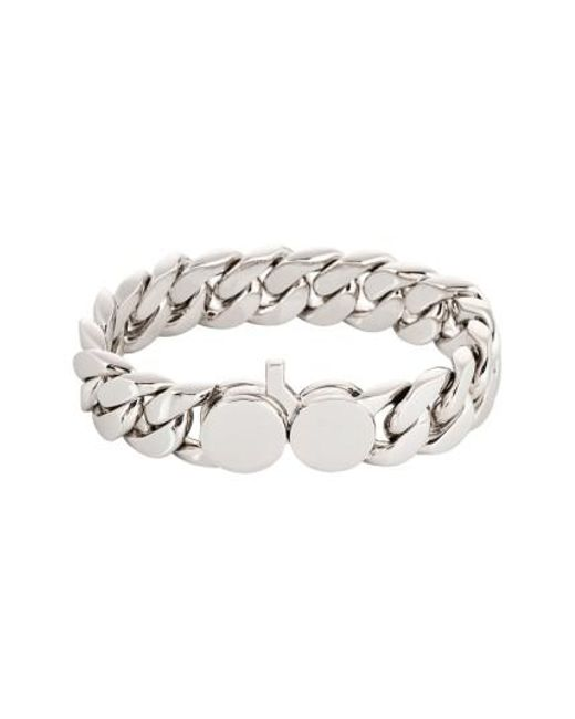 Tom Wood | Metallic Slim Silver Chain Link Bracelet | Lyst