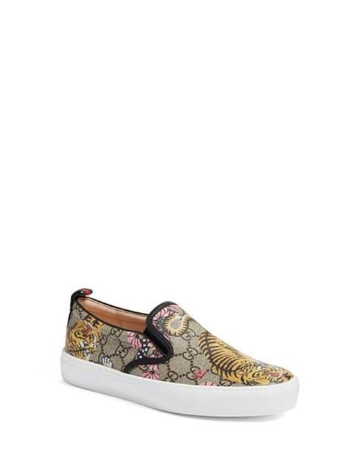 Gucci Dublin Skate Shoes In Natural - Save 15%