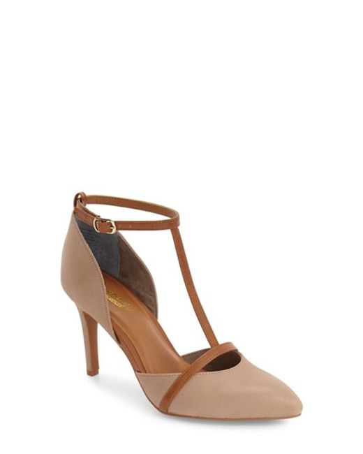 Seychelles | Brown Zeal T-strap Pump | Lyst