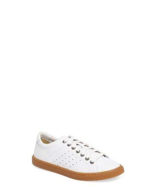 Treasure & Bond | White Molo Perforated Sneaker | Lyst