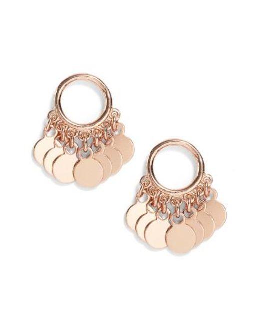 Argento Vivo   Metallic Vermeil Frontal Drop Earrings   Lyst