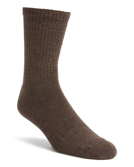 Smartwool | Blue 'new Heathered' Ribbed Crew Socks for Men | Lyst