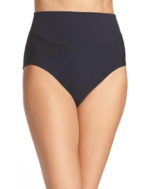 Miraclesuit | Black High Waist Bikini Bottoms | Lyst