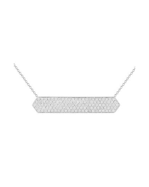 Bony Levy   Metallic Diamond Pave Pendant Necklace (nordstrom Exclusive)   Lyst