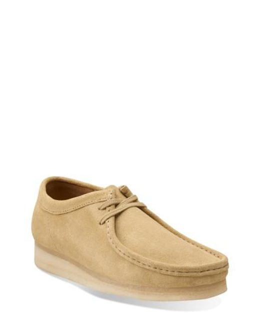 Clarks   Gray Wallabee Suede Chukka Boots for Men   Lyst