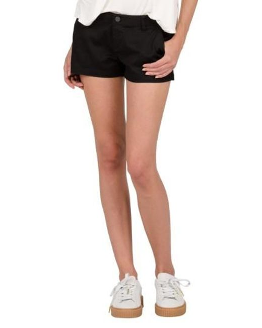 Volcom | Black Frochickie Chino Shorts | Lyst
