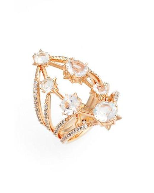 Nadri | Metallic Wishes Large Ring | Lyst