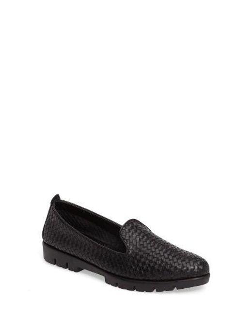 The Flexx   Black Smokin Hot Too Platform Loafer   Lyst