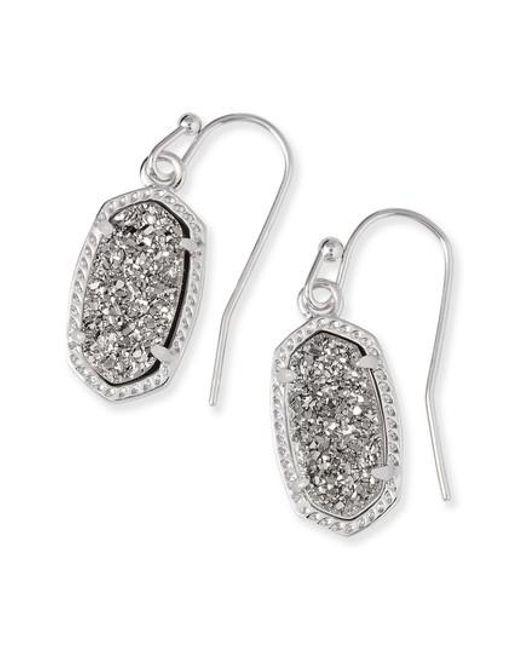 Kendra Scott - Metallic Lee Small Drop Earrings - Lyst