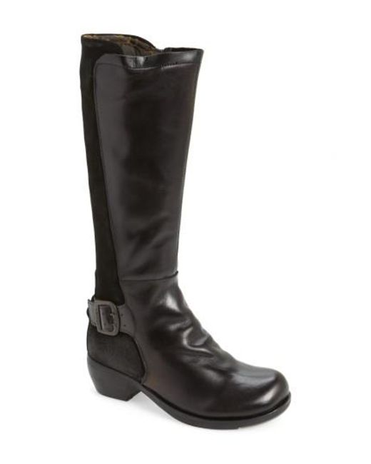 Fly London | Black Miss Boot | Lyst