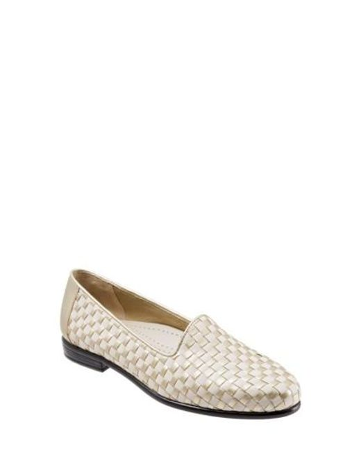Trotters | Multicolor Liz Woven Loafer Flat | Lyst