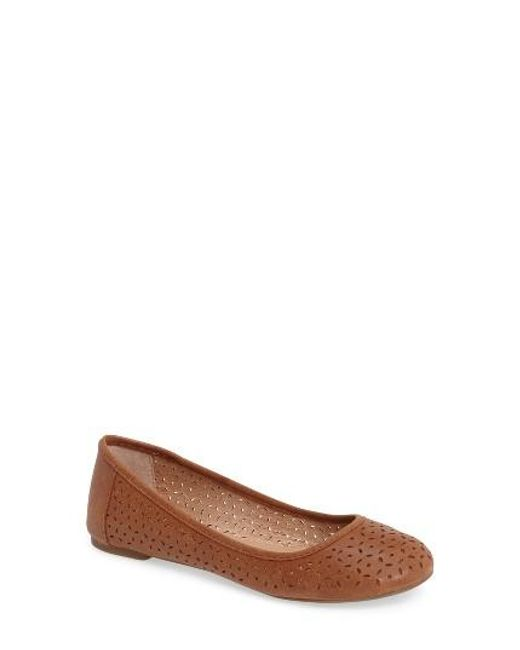 Lucky Brand | Multicolor Eaden 2 Perforated Flat | Lyst