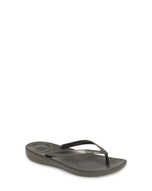 Fitflop | Green (tm) Iqushion Flip Flop | Lyst