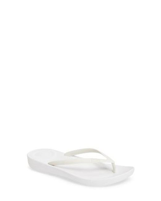 Fitflop   White (tm) Iqushion Flip Flop   Lyst