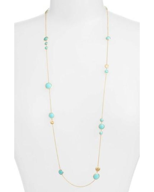 Marco Bicego | Multicolor 'jaipur' Long Station Necklace | Lyst