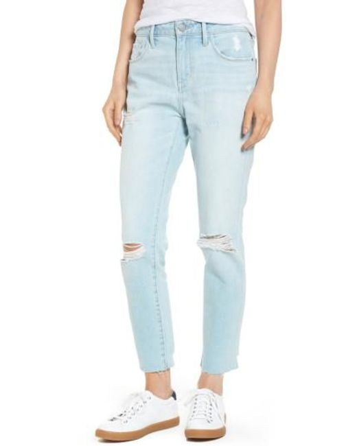 Treasure & Bond | Blue High Waist Ankle Skinny Jeans | Lyst