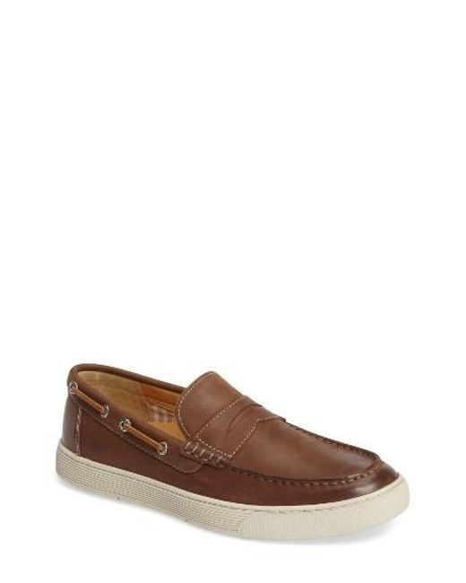 Sperry Top-Sider | Brown Gold Cup Penny Loafer for Men | Lyst