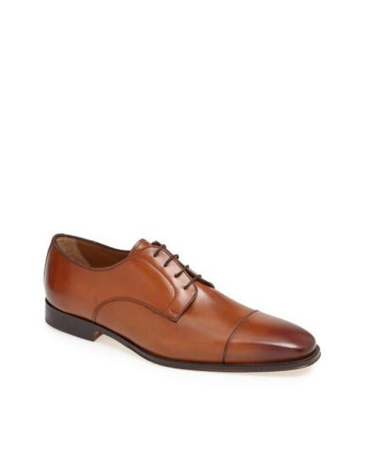 Florsheim | Brown 'classico' Cap Toe Derby for Men | Lyst