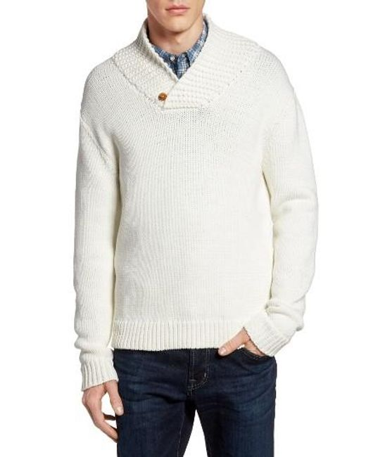 French Connection | White Flux Sweater for Men | Lyst