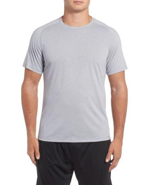 Zella   Gray Celsian Training T-shirt for Men   Lyst