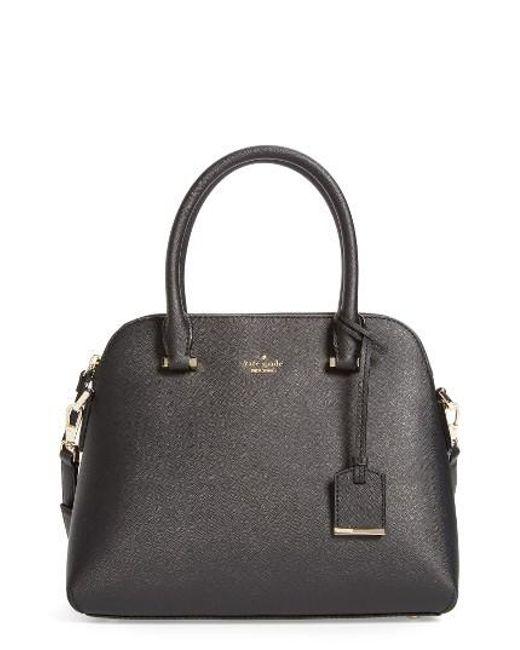 Kate Spade   Black Cameron Street Maise Leather Satchel   Lyst