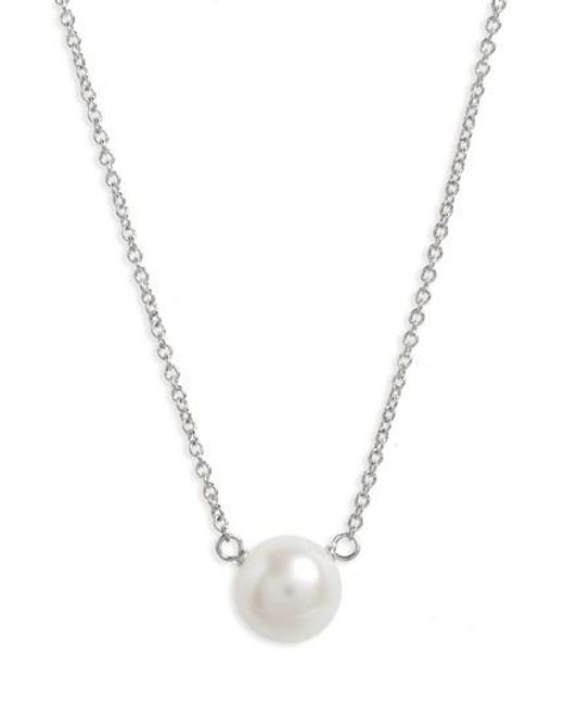 Dogeared | Metallic Pearls Of. Pendant Necklace | Lyst