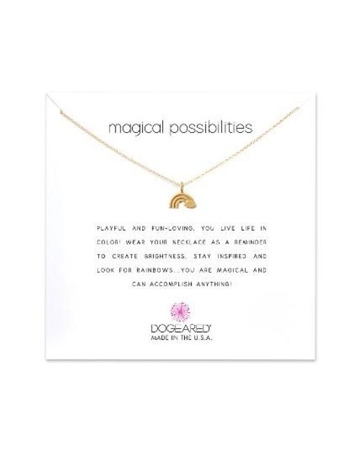 Dogeared | Metallic Reminder - Magical Possibilities Pendant Necklace | Lyst