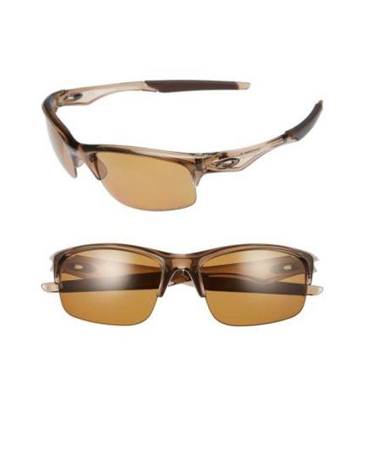 Oakley | Brown Bottle Rocket 62mm Polarized Sunglasses | Lyst