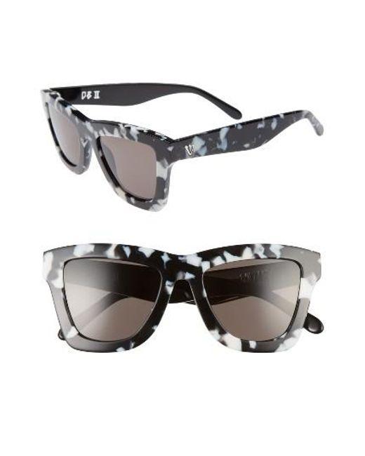 Valley Eyewear | Black Db Ii 50mm Retro Sunglasses | Lyst
