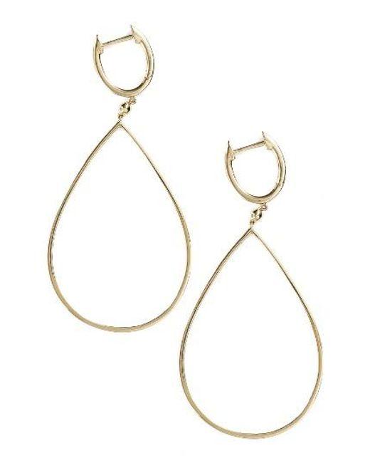 Bony Levy | Metallic Geo Teardrop Earrings (nordstrom Exclusive) | Lyst