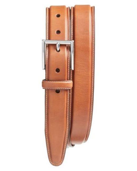 Cole Haan | Multicolor Pressed Edge Leather Belt for Men | Lyst