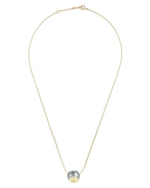 Mizuki | Metallic Sea Of Beauty Pearl Pendant Necklace | Lyst