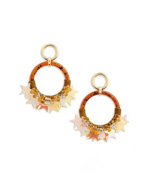 Lizzie Fortunato - Metallic Starry Night Earrings - Lyst
