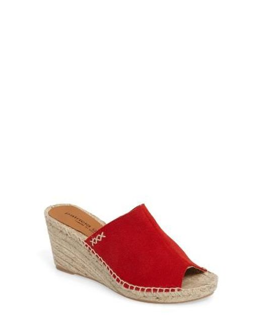 Patricia Green | Red Shen Espadrille Mule | Lyst
