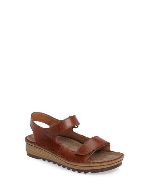 Naot   Brown Zinnia Sandal   Lyst
