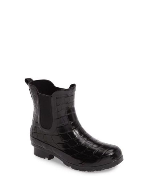 Roma | Black Waterproof Chelsea Boot | Lyst