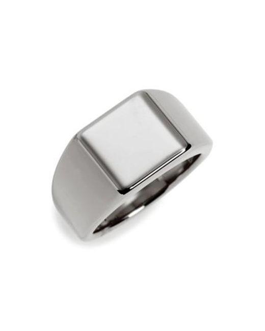 Vitaly   Metallic Lourd Square Ring   Lyst