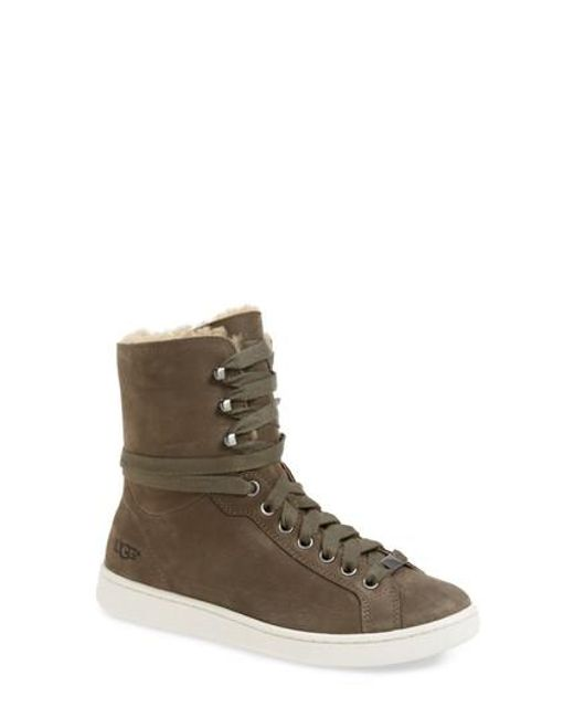 Ugg | Brown Ugg Starlyn Genuine Shearling Lined Boot | Lyst