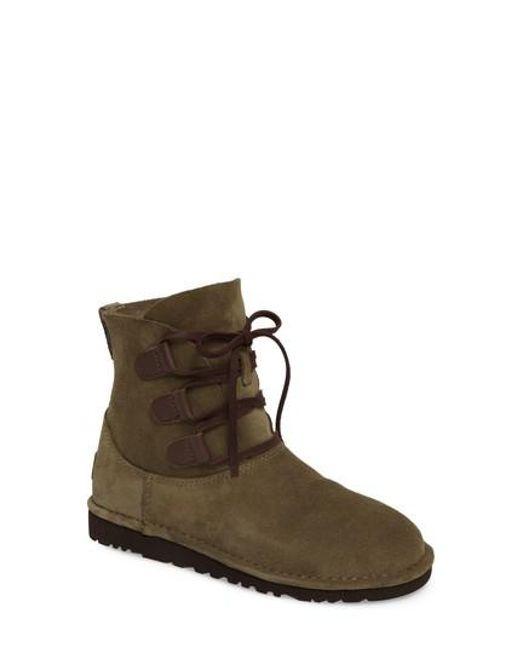 Ugg | Brown Ugg Elvi Short Boot | Lyst