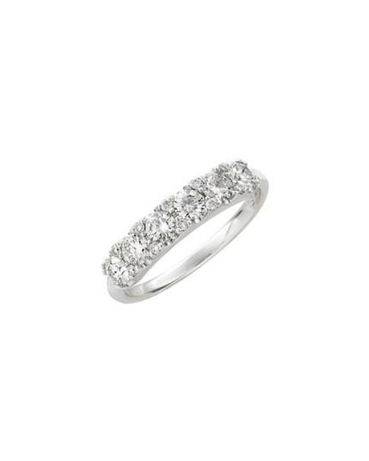 Bony Levy   White Diamond Cluster Ring   Lyst