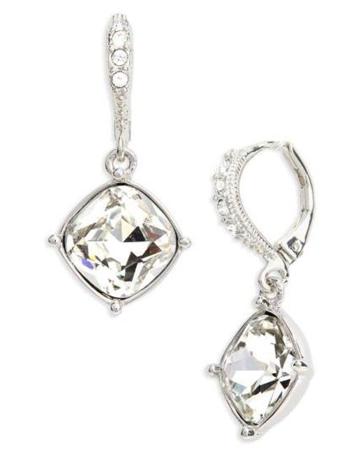 Givenchy | Metallic Devon Drop Earrings | Lyst