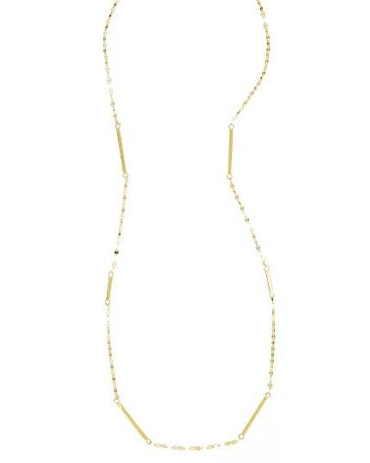 Lana Jewelry | Metallic Short Bar Station Necklace | Lyst