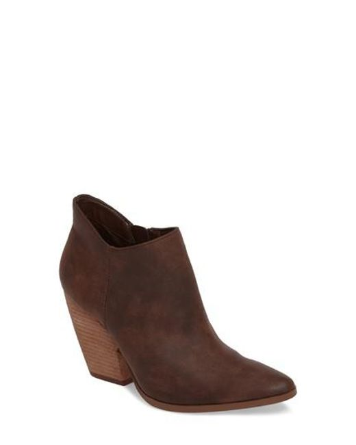 Charles by Charles David | Brown Natasha Bootie | Lyst