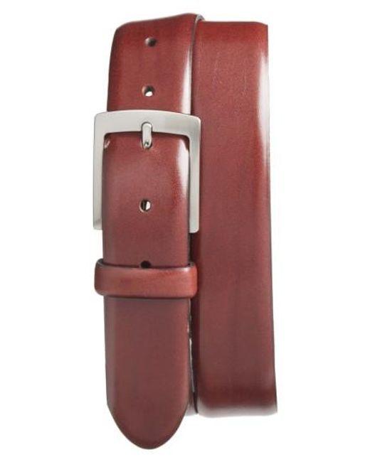 Bosca | Brown Heritage Leather Belt for Men | Lyst