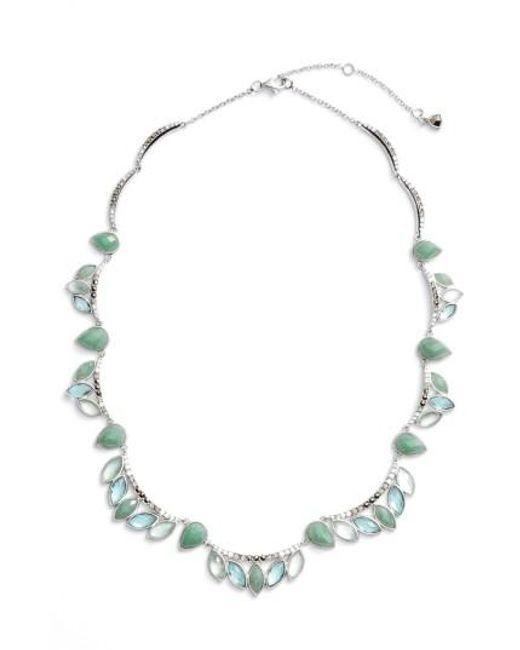 Judith Jack | Blue Lakeside Collar Necklace | Lyst