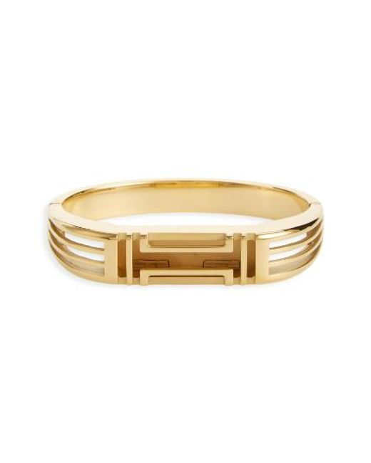 Tory Burch | Metallic For Fitbit Hinge Bracelet | Lyst