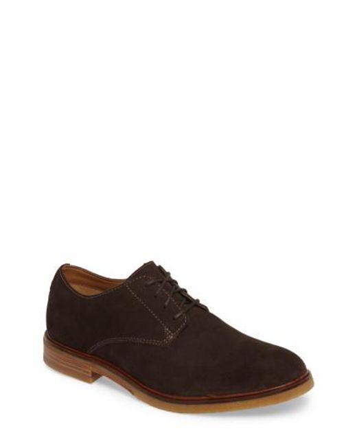 Clarks   Brown Clarks Clarkdale Moon Buck Shoe for Men   Lyst