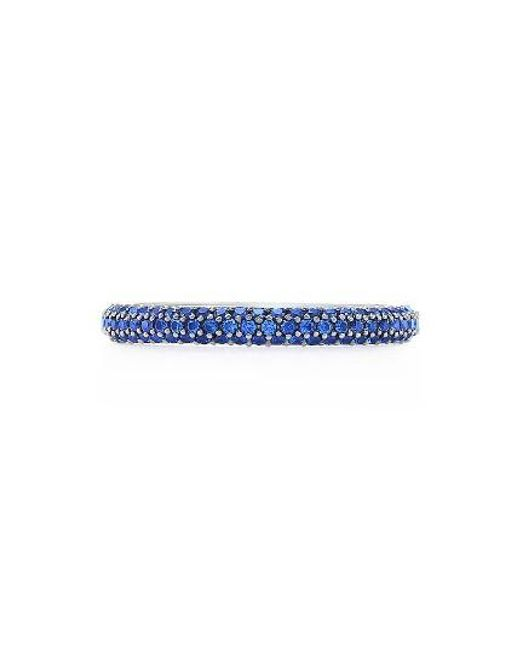 Kwiat | Blue Moonlight Sapphire Stacking Ring | Lyst