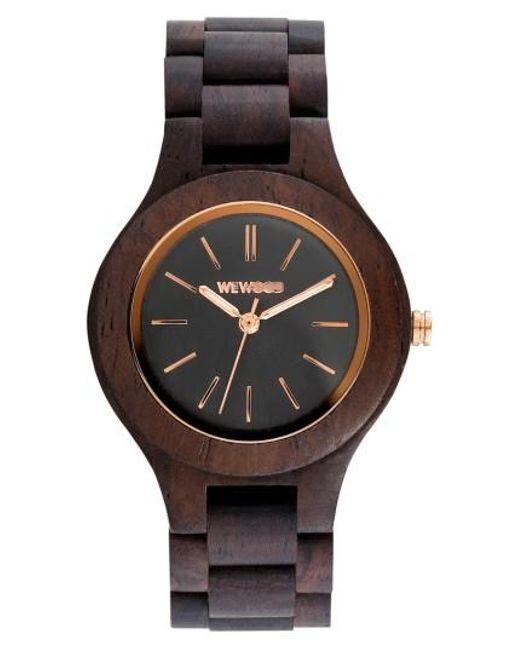 WeWood   Brown Antea Wood Bracelet Watch   Lyst