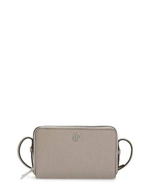 Tory Burch | Multicolor Mini Parker Leather Crossbody Bag | Lyst